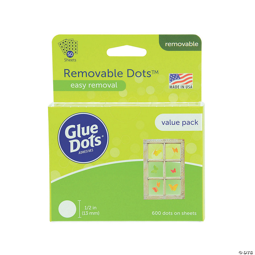 Removable Dot Sheets Value Pack