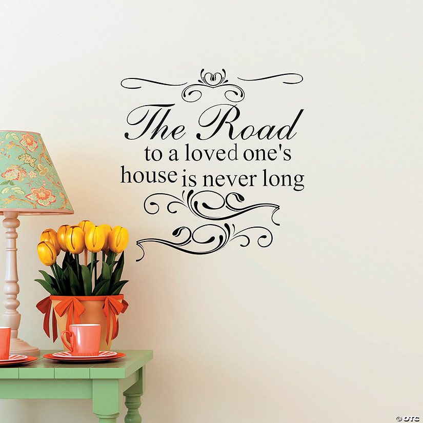 Road to A Love One's House Wall Decal