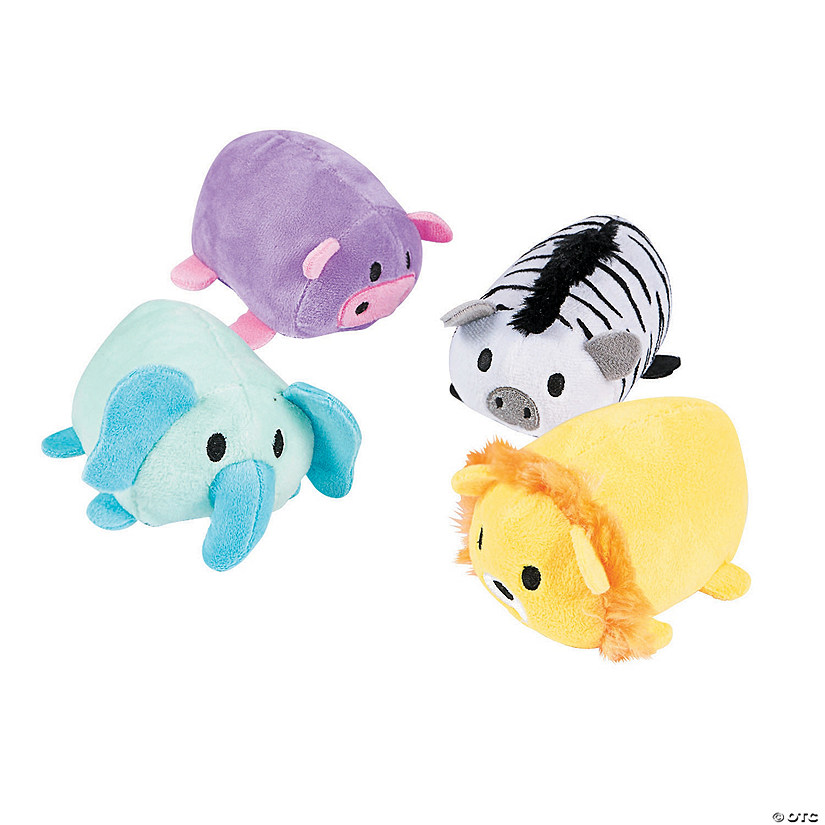 Roly-Poly Safari Stuffed Animals