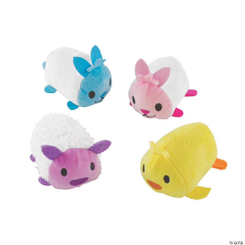 Roly Poly Stuffed Easter Animals