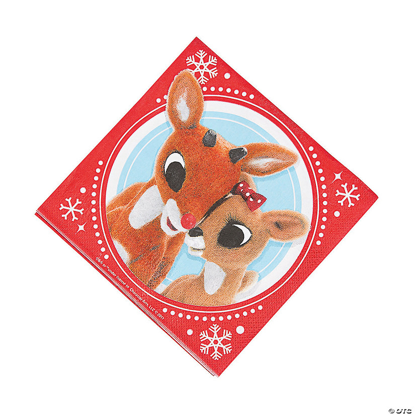 Rudolph the Red-Nosed Reindeer<sup>® </sup>Luncheon Napkins