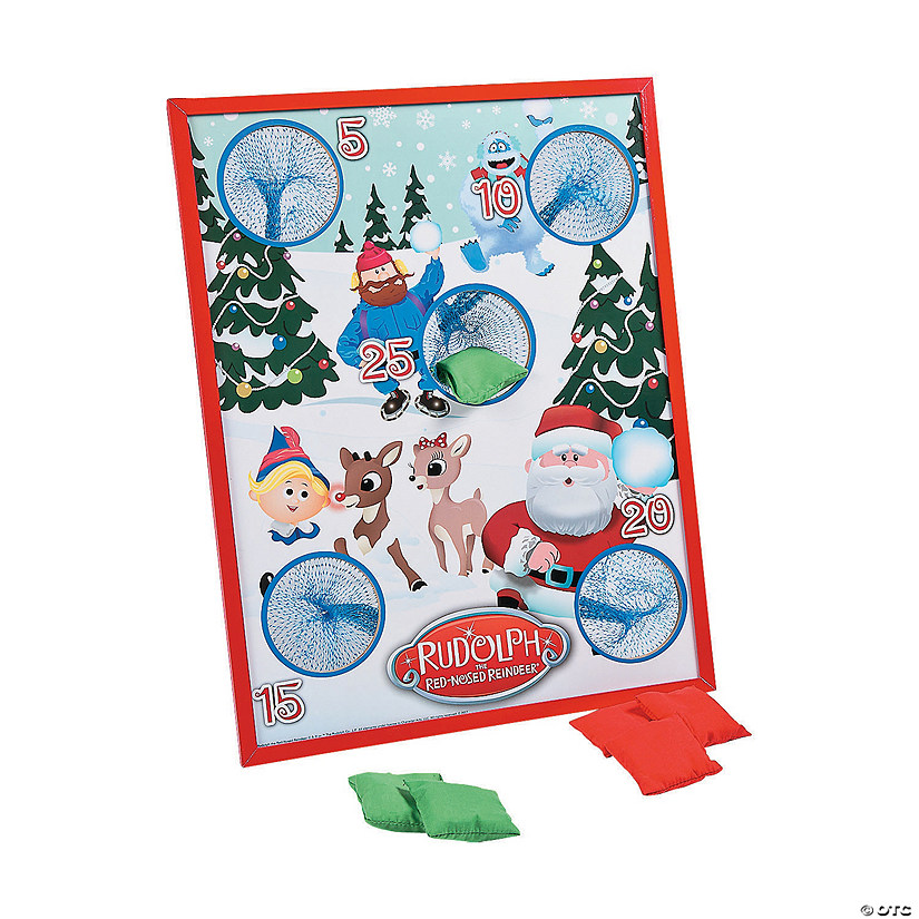 Rudolph the Red-Nosed Reindeer<sup>®</sup> Bean Bag Toss Game