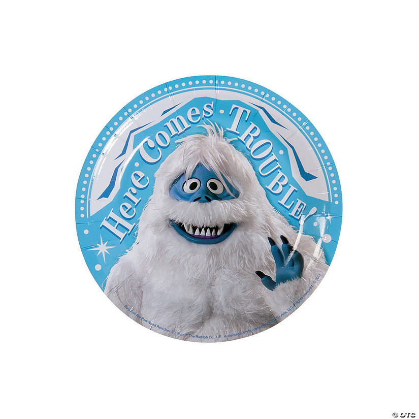 Rudolph the Red-Nosed Reindeer<sup>®</sup> Bumble<sup>™</sup> Paper Dessert Plates