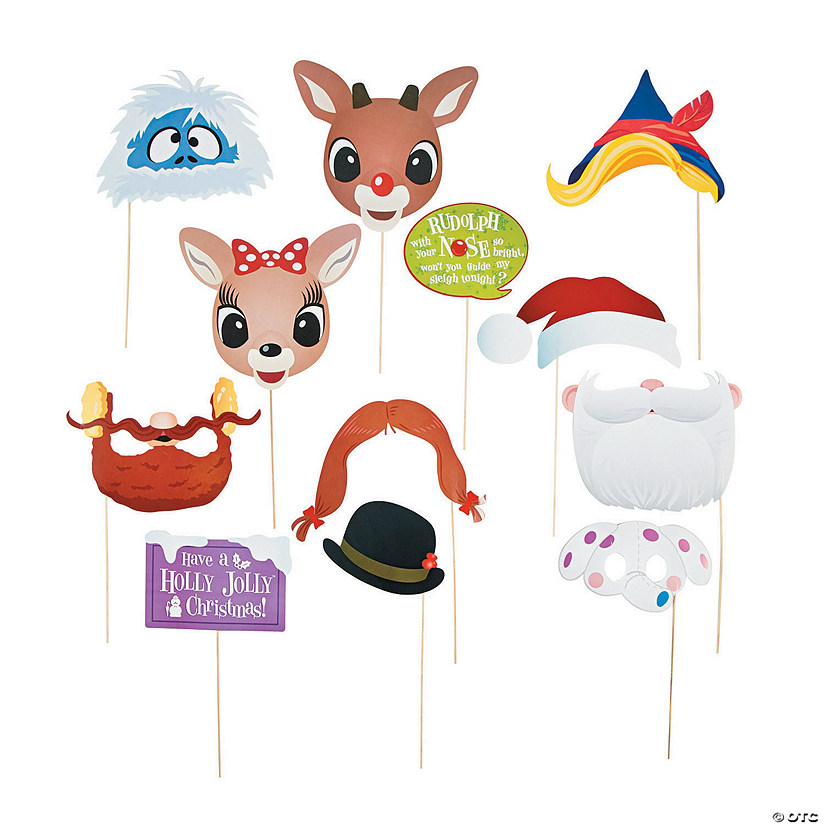 Rudolph the Red-Nosed Reindeer<sup>®</sup> Photo Stick Props
