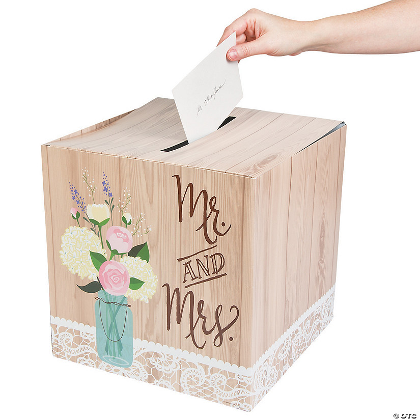 Rustic Wedding Card Box