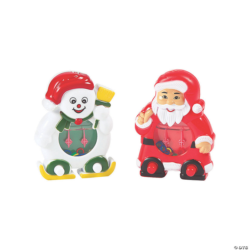 Santa & Snowman Ring Toss Water Games