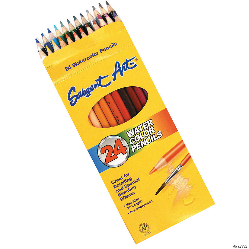 Sargent Art Watercolor Pencils - 24 pcs.