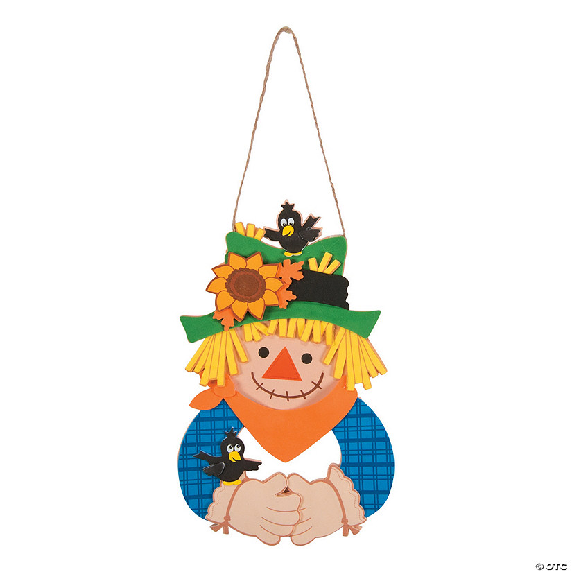 Scarecrow Wreath Craft Kit