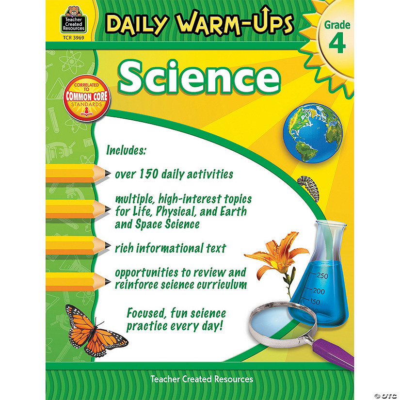 Science Daily Warm-Ups for Grade 4