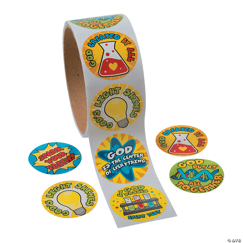 Science Lab VBS Stickers