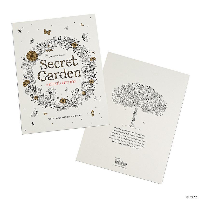Secret Garden Artists Edition Adult Coloring Book By Johanna Basford