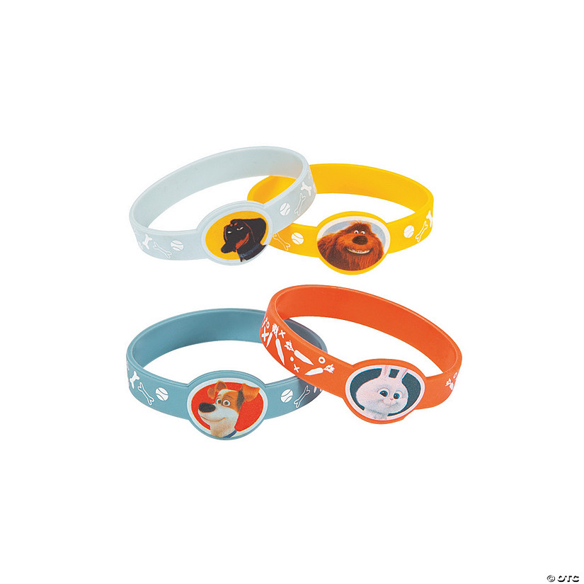 Secret Life of Pets Rubber Bracelets