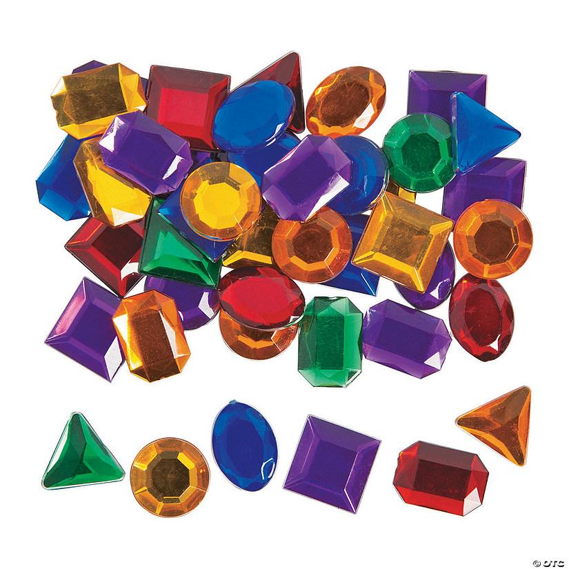 Self-Adhesive Geometric Jewel Assortment