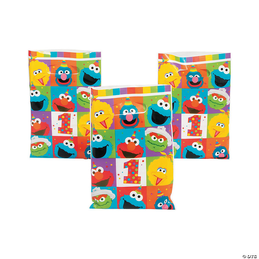 Sesame Street<sup>®</sup> Elmo Turns One Goody Bags