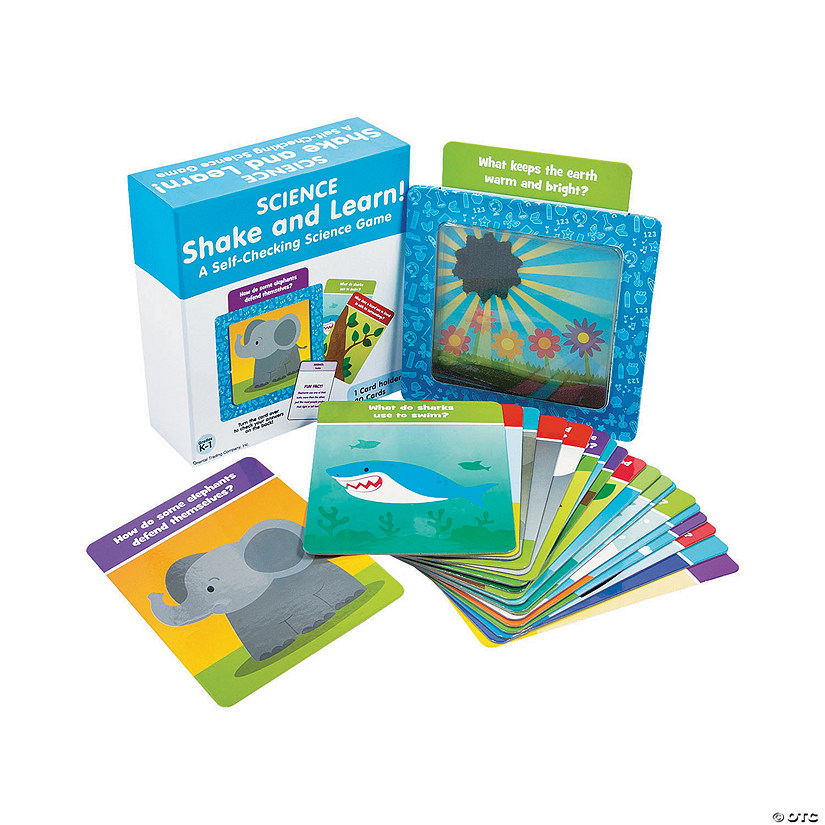 Shake & Learn Science Cards