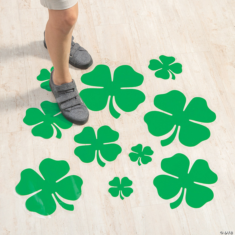 Shamrock Floor Decal