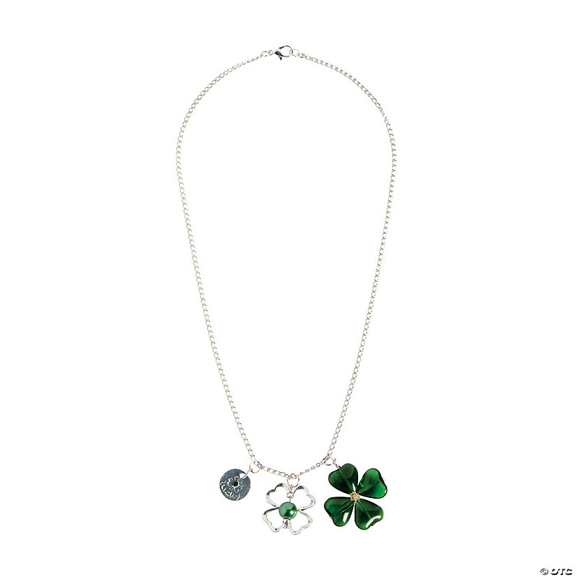 Shamrock Necklace Craft Kit