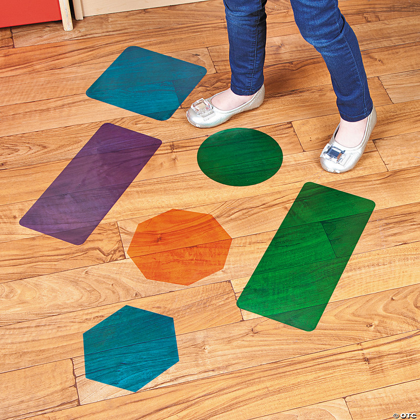 Shape Floor Decals