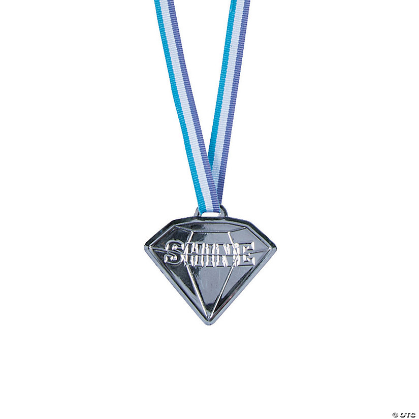 Shine Diamond-Shaped Medals