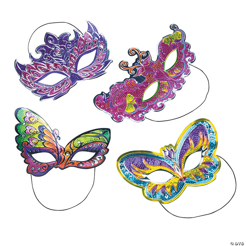 Shiny Mask Assortment