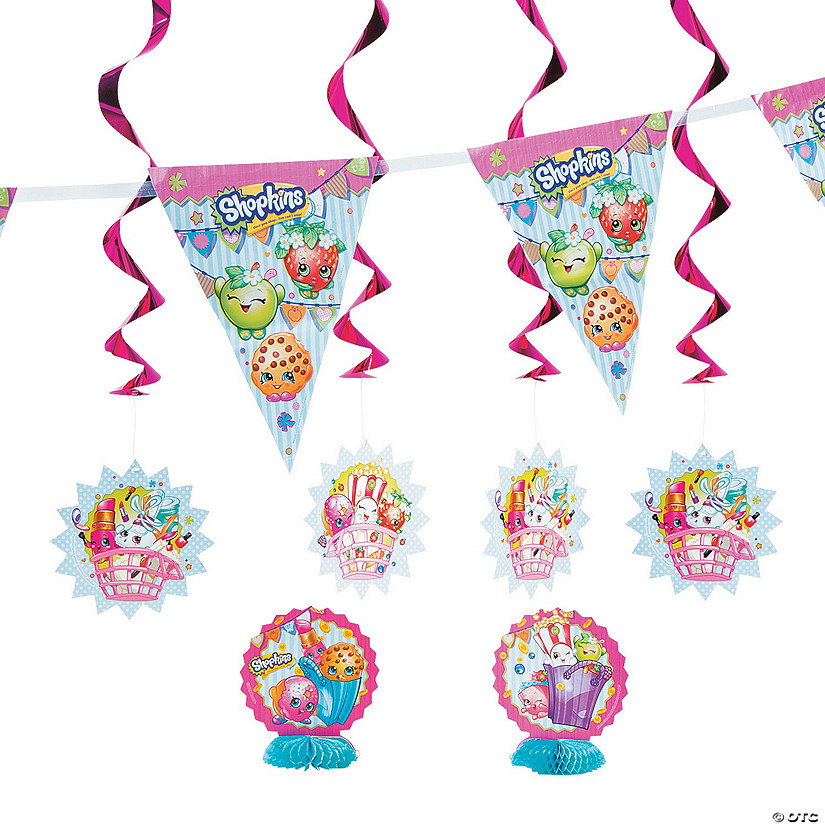 Shopkins™ Decorating Kit