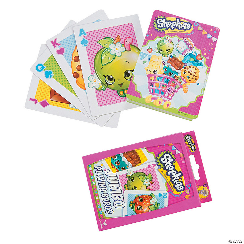 Shopkins™ Jumbo Playing Cards