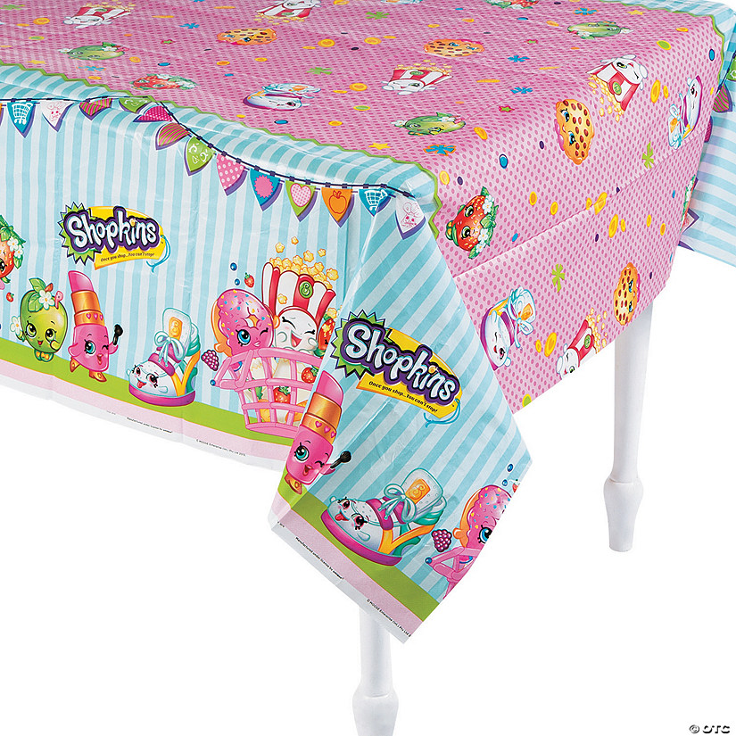 Shopkins™ Plastic Tablecloth