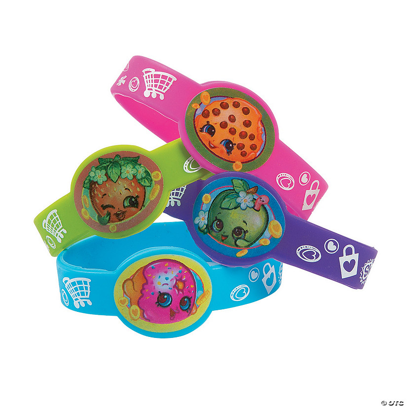 Shopkins™ Rubber Bracelets