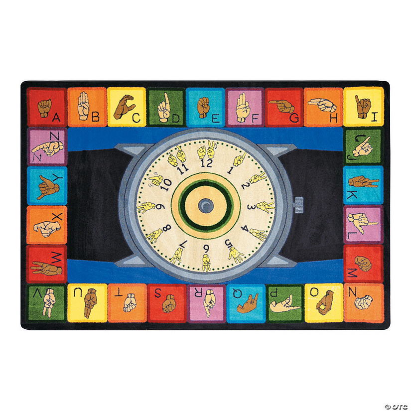 Signs Of The Time® Classroom Rug
