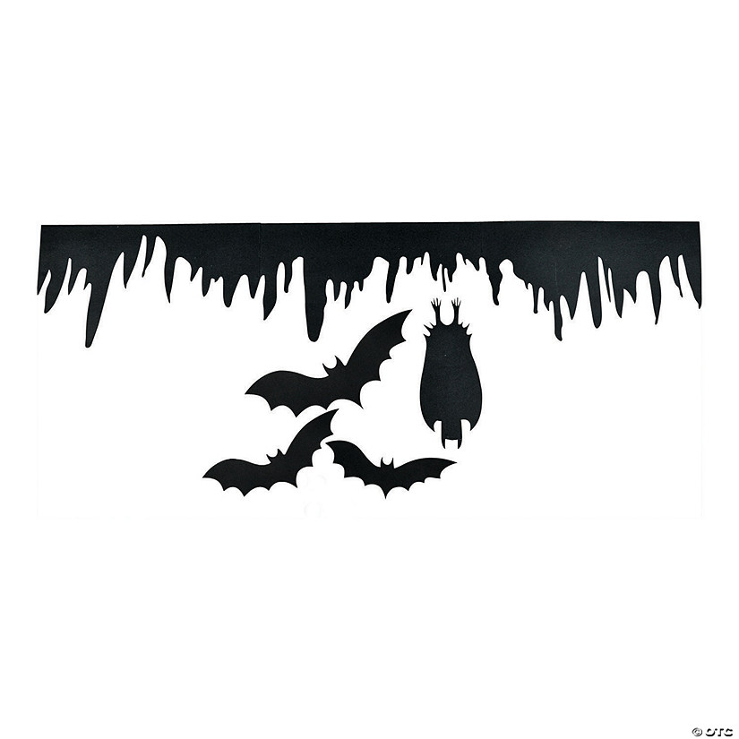 Silhouette Bat Wall Decorations