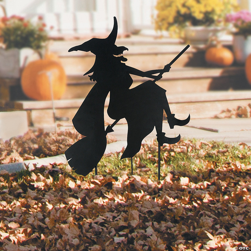 Silhouette Halloween Yard Sign