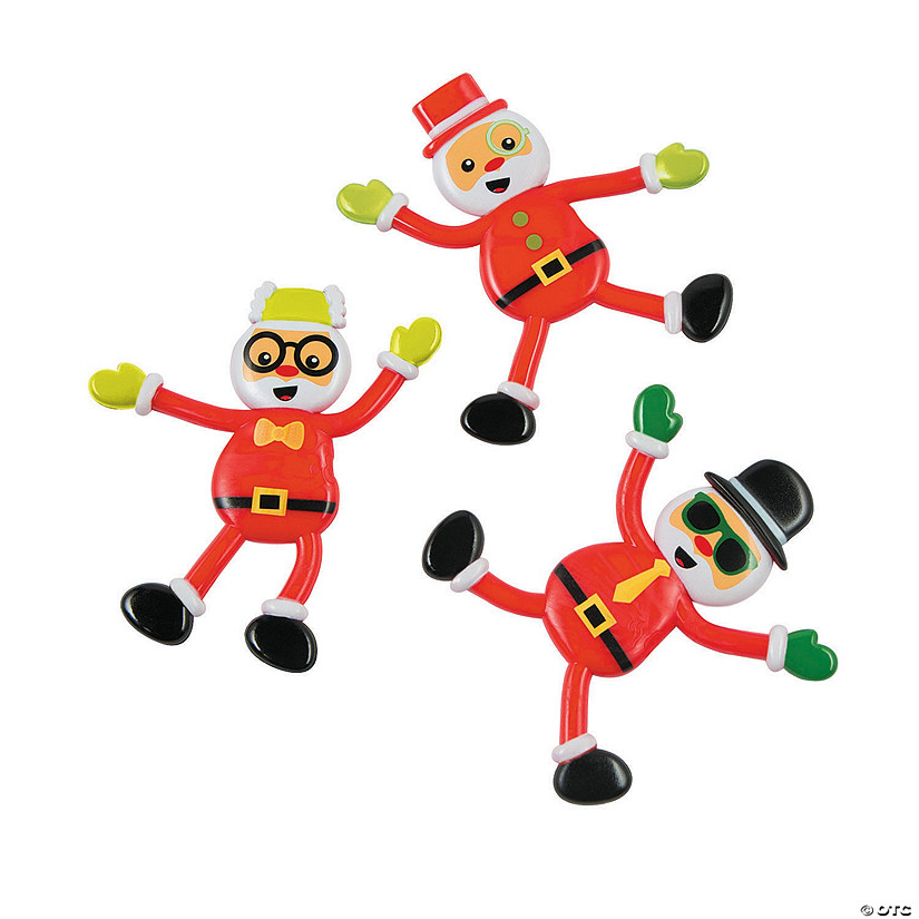 Silly Santa Bendables