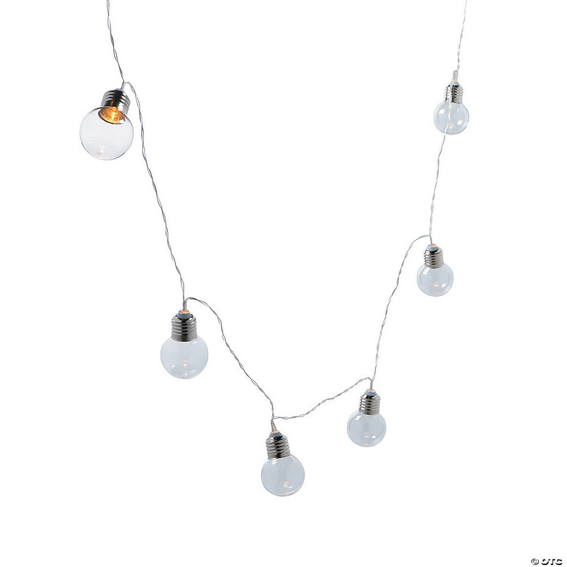 Silver Accent Bulb String Lights