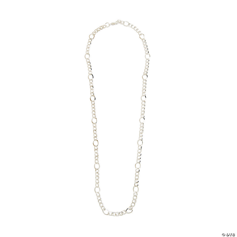 Silvertone Chain Necklace - 18""