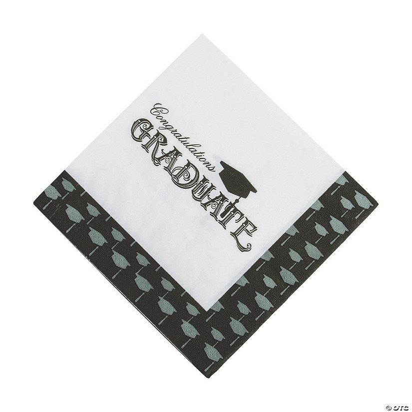 Simply Grad Luncheon Paper Napkins