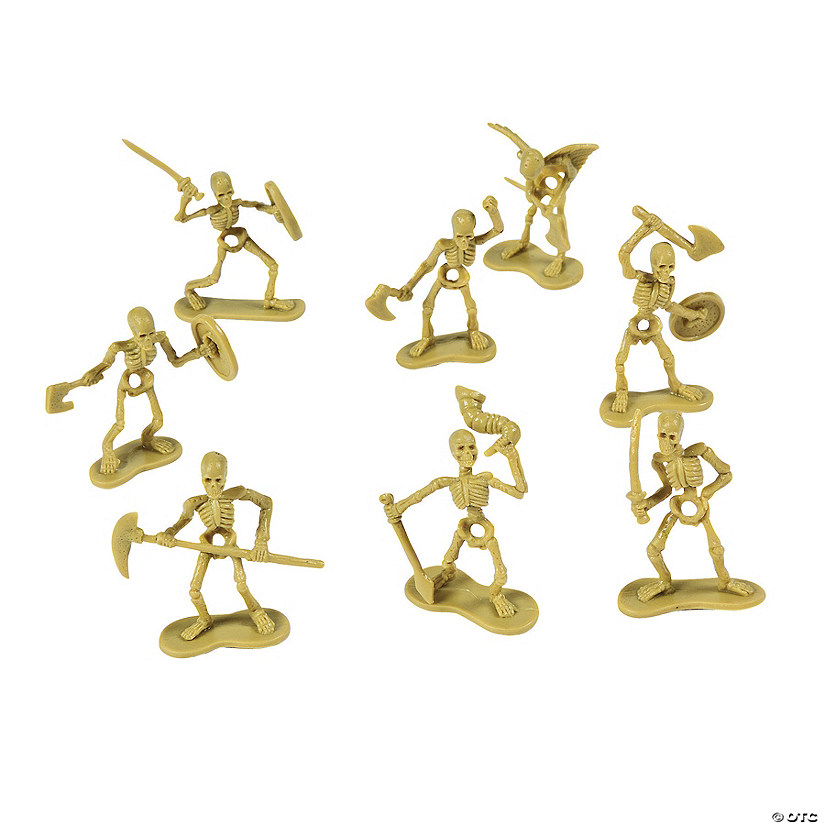 Skeleton Warrior Figures