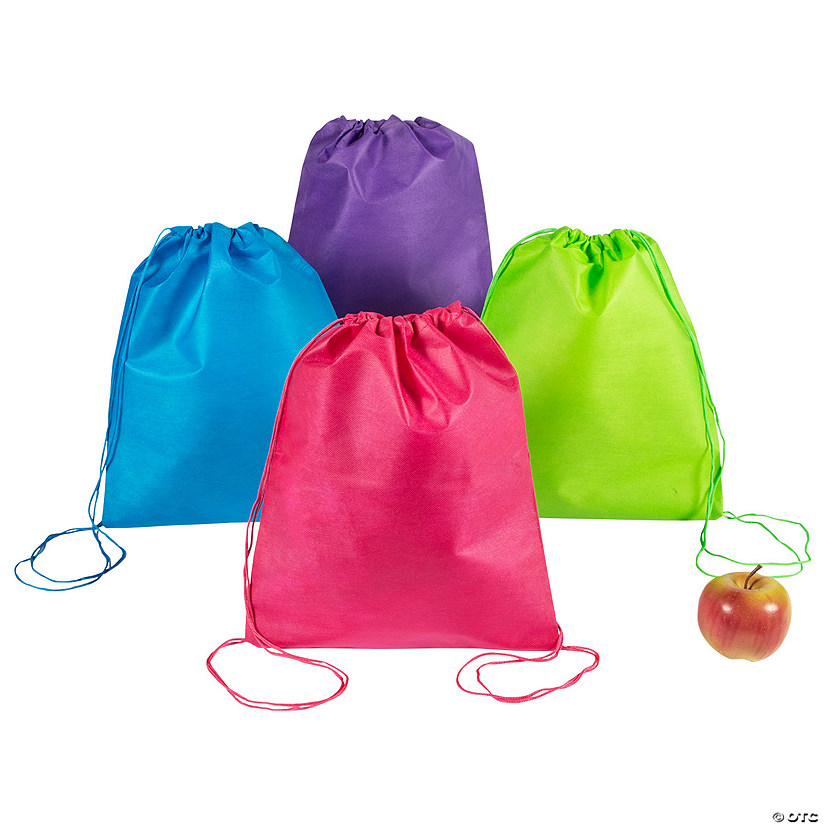 Small Bright Color Drawstring Bags