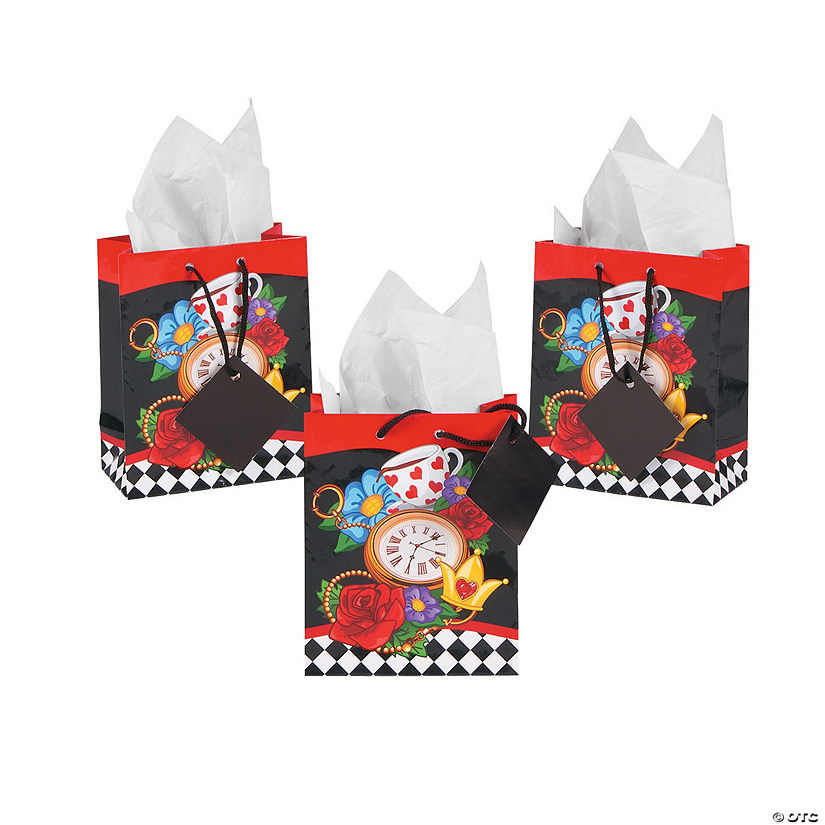 Small Garden of Wonders Gift Bags with Tags
