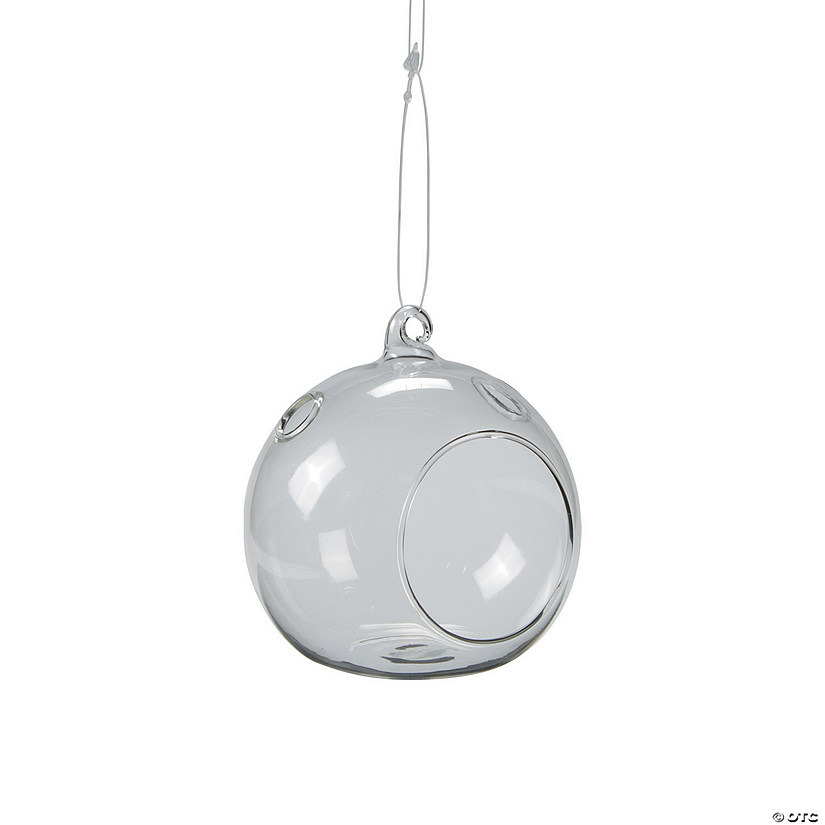 Small Round Hanging Globes