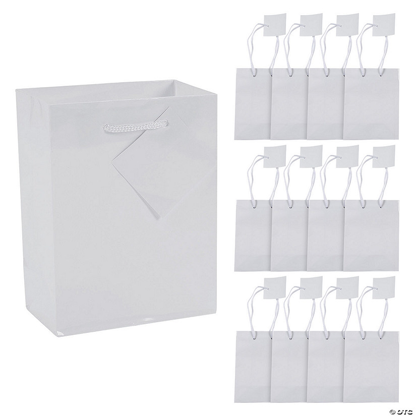 Small White Gift Bags