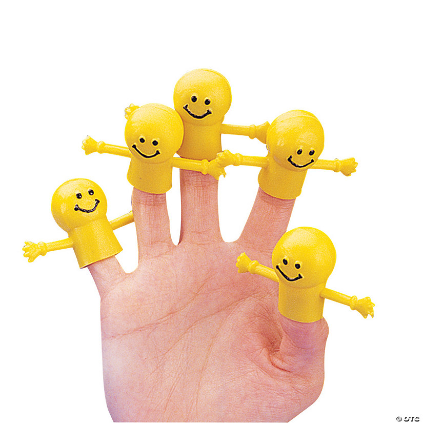 Smile Face Finger Puppets