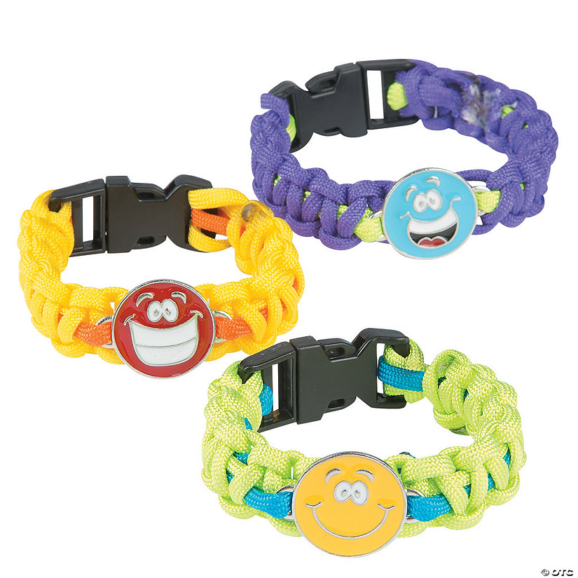 Smile Face Paracord Bracelet Craft Kit