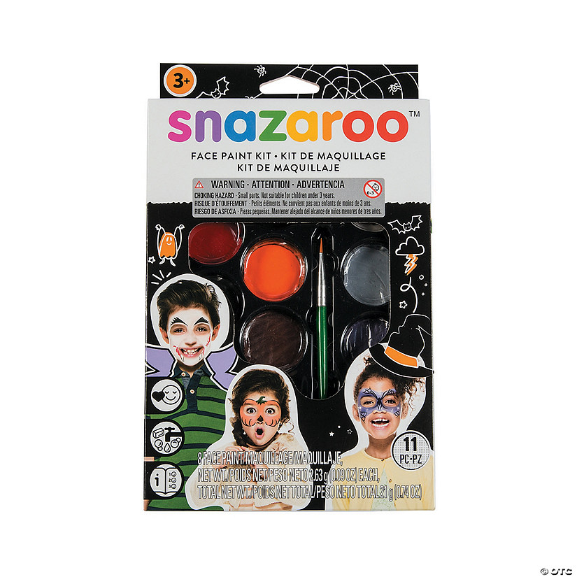 Snazaroo™ Halloween Face Paint Kit