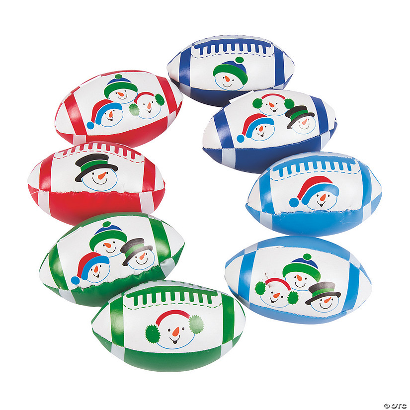 Snowman Football Assortment