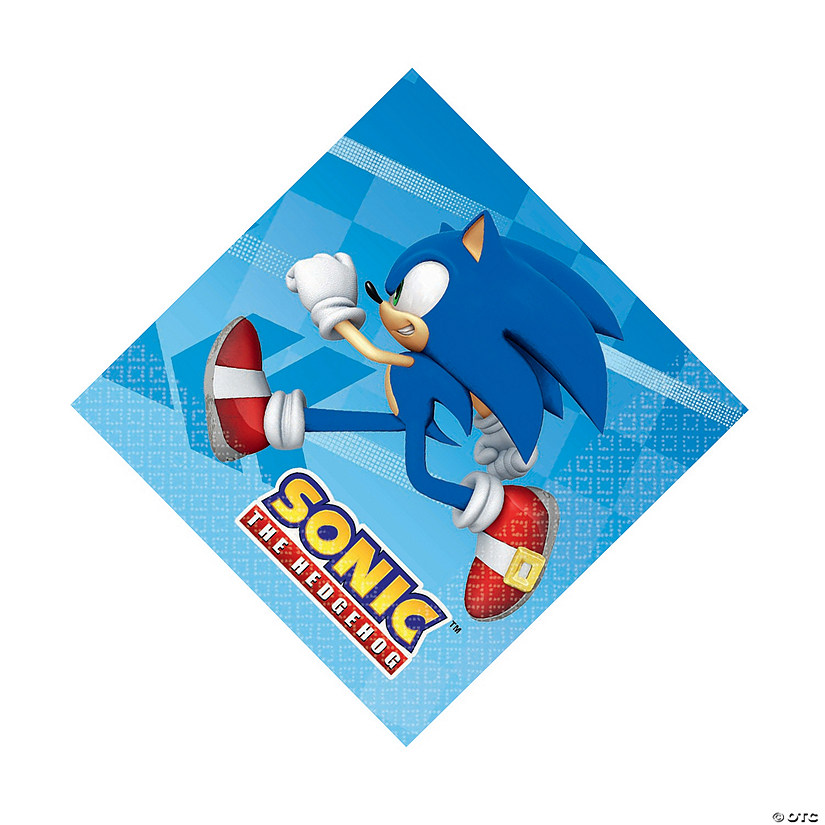 Sonic™ the Hedgehog Luncheon Napkins