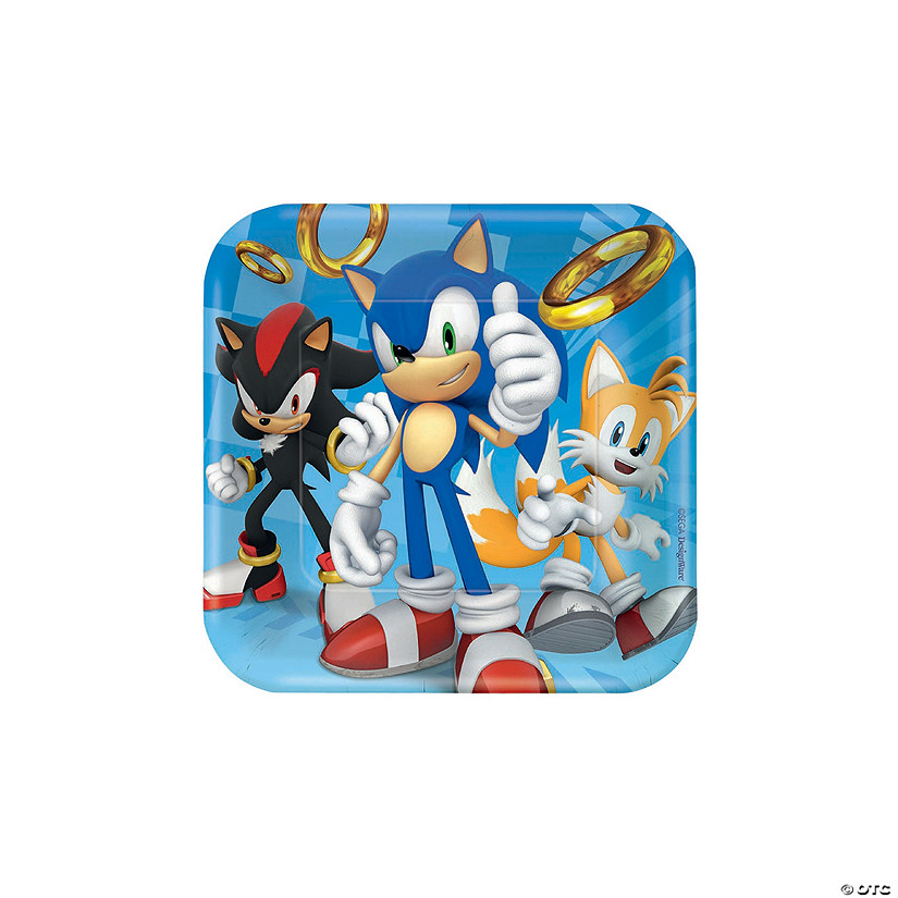 Sonic™ the Hedgehog Paper Dessert Plates