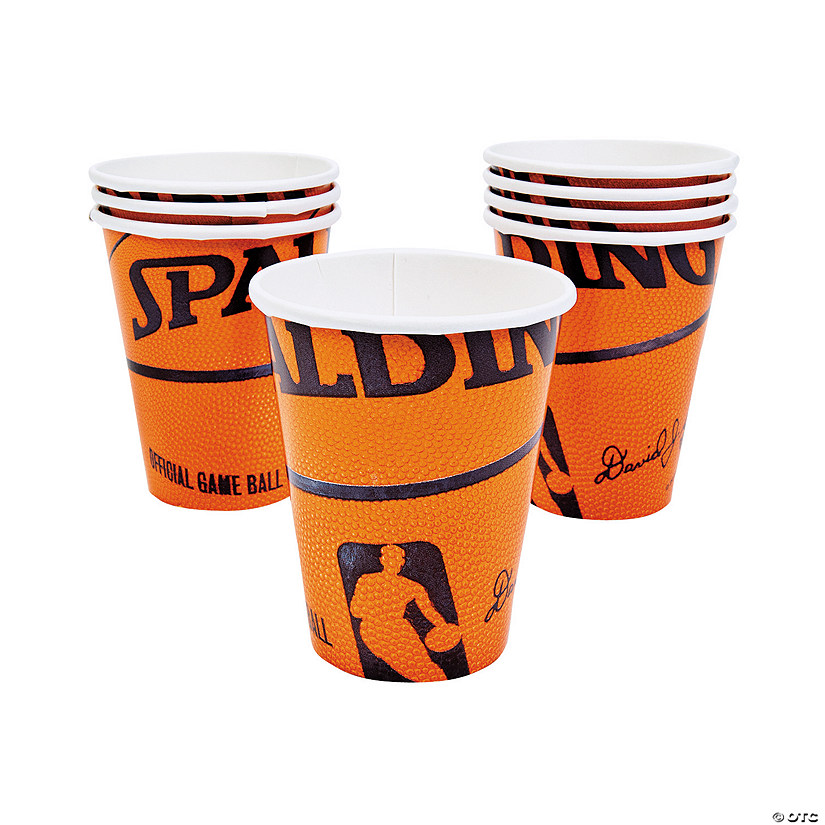Spalding® Basketball Paper Cups