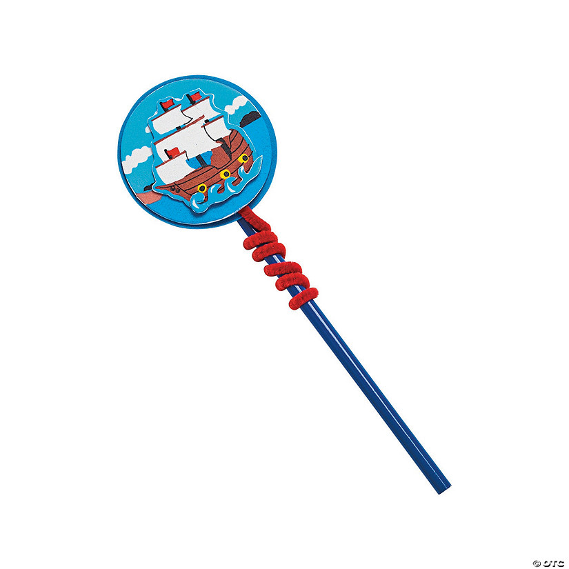 Spirit of the Seas Pencil Toppers Craft Kit