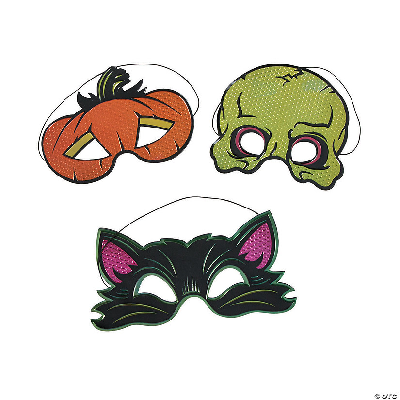 Spookadelic Fancy Masks