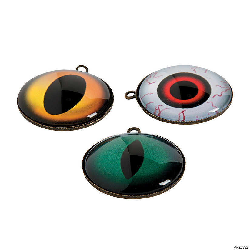 Spooky Eye Charms - 25mm